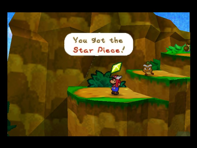 Paper Mario - Level  - looks like a diamond sir - User Screenshot